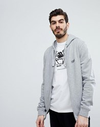 Barbour International Essential Hoodie In Grey Grey Marl