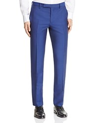 Paul Smith Solid Mohair Slim Fit Trousers Royal Blue