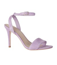 Sandro Suede Nina Sandals 100 Purple
