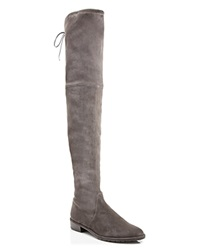 Stuart Weitzman Flat Over The Knee Boots Lowland Stretch Londra