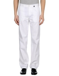 Versace Collection Denim Pants White