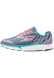 Skechers Performance Go Run Forza 2 Neutral Running Shoes Blau Blue