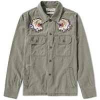 Remi Relief Souvenir Shirt Jacket Green