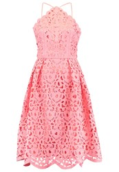 Chi Chi London Tall Gabriela Cocktail Dress Party Dress Coral