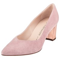 Peter Kaiser Naja Block Heeled Court Shoes Pink