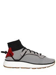 Adidas Originals By Alexander Wang 30Mm Run Mesh And Leather Sneakers