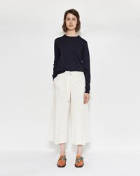 Maison Martin Margiela Cotton Linen Pants Ecru