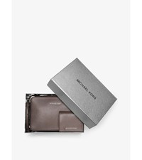 Jet Set Travel Leather Crossbody And Card Holder Set