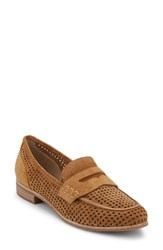 G.H. Bass Women's And Co. Ellie Loafer Camel Suede