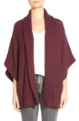 Women's Halogen Dolman Sleeve Wool And Cashmere Cardigan