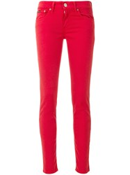 Polo Ralph Lauren Skinny Jeans Red