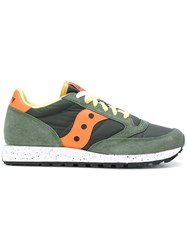 Saucony Lace Up Trainers Green