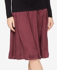 A Pea In The Pod Maternity A Line Skirt Dusty Plum