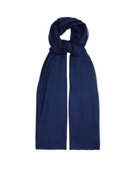 Denis Colomb Cloud Nomad Cashmere Scarf Navy