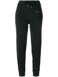 Calvin Klein Jeans Tapered Sweatpants Black