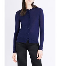 Joseph Fitted Cashmere Cardigan 340Ink
