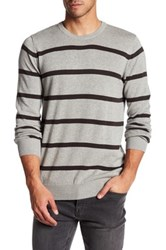 Bench Oeuvre Striped Sweater Gray