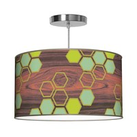 Jefdesigns Hex Pendant Light