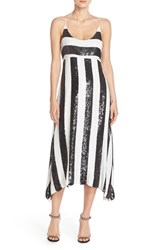 Women's Tracy Reese Stripe Sequin Slipdress
