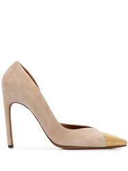 Altuzarra Kit Contrasting Toe Cap Pumps 60