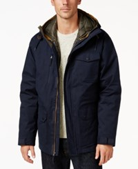 Free Country Men's Oxford Blend 3 In 1 Down Jacket Navy