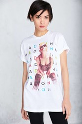 Urban Outfitters Madonna Tee White