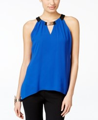 Thalia Sodi Hardware Keyhole Halter Top Only At Macy's