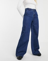 Blend She Ellis Flared Jeans Navy