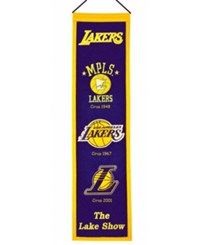 Winning Streak Los Angeles Lakers Heritage Banner Team Color