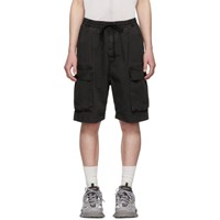 Juun.J Grey Pocket Shorts