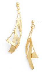 Karine Sultan Women's Sail Drop Earrings