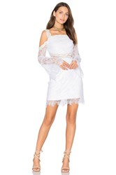 Three Floor Angelic Dress White