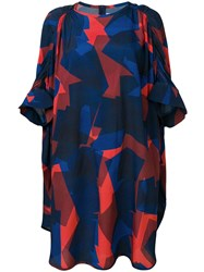 Henrik Vibskov Renew Oversized Dress Blue