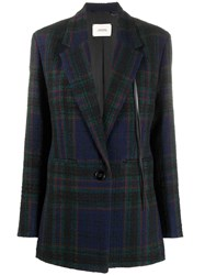 Dorothee Schumacher Checked Tweed Blazer 60