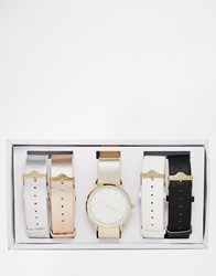 Aldo Bridien Multi Strap Watch Multi