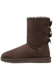 Ugg Bailey Bow Ii Boots Chocolate Brown