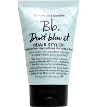 Bumble And Bumble Don't Blow It Creme