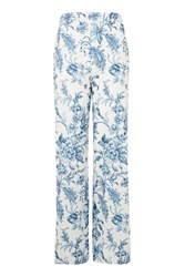 Love Printed Wide Leg Trousers By Blue