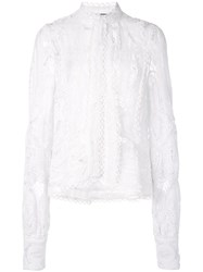 Alexis Kadinsky Lace Top White