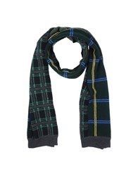 Mauro Grifoni Accessories Oblong Scarves Men Dark Green