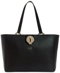 Guess Augustina Large Tote A Macy's Exclusive Style Black