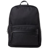 Maison Martin Margiela 11 Leather Trim Nylon Backpack Black
