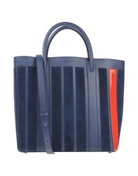 Mother Of Pearl Handbags Dark Blue