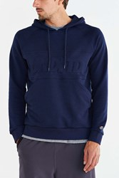 Undefeated Out Runner Pullover Hooded Sweatshirt Blue