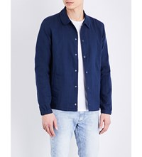 Lee Cotton Coach Jacket Blue