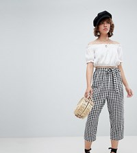 Reclaimed Vintage Inspired Gingham Trousers Multi