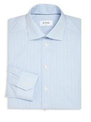 Eton Of Sweden Striped Shirt Blue