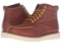 Skechers Pettus Red Brown Pitstop Leather Men's Work Boots