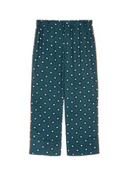 Love Stories 'Reese' Scarab Print Pyjama Pants Green Multi Colour