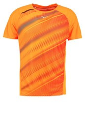 Mizuno Premium Aero Sports Shirt Clown Fish Tornado Orange